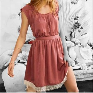 Lauren Conrad Lace Pleated Fit & Flare Dress